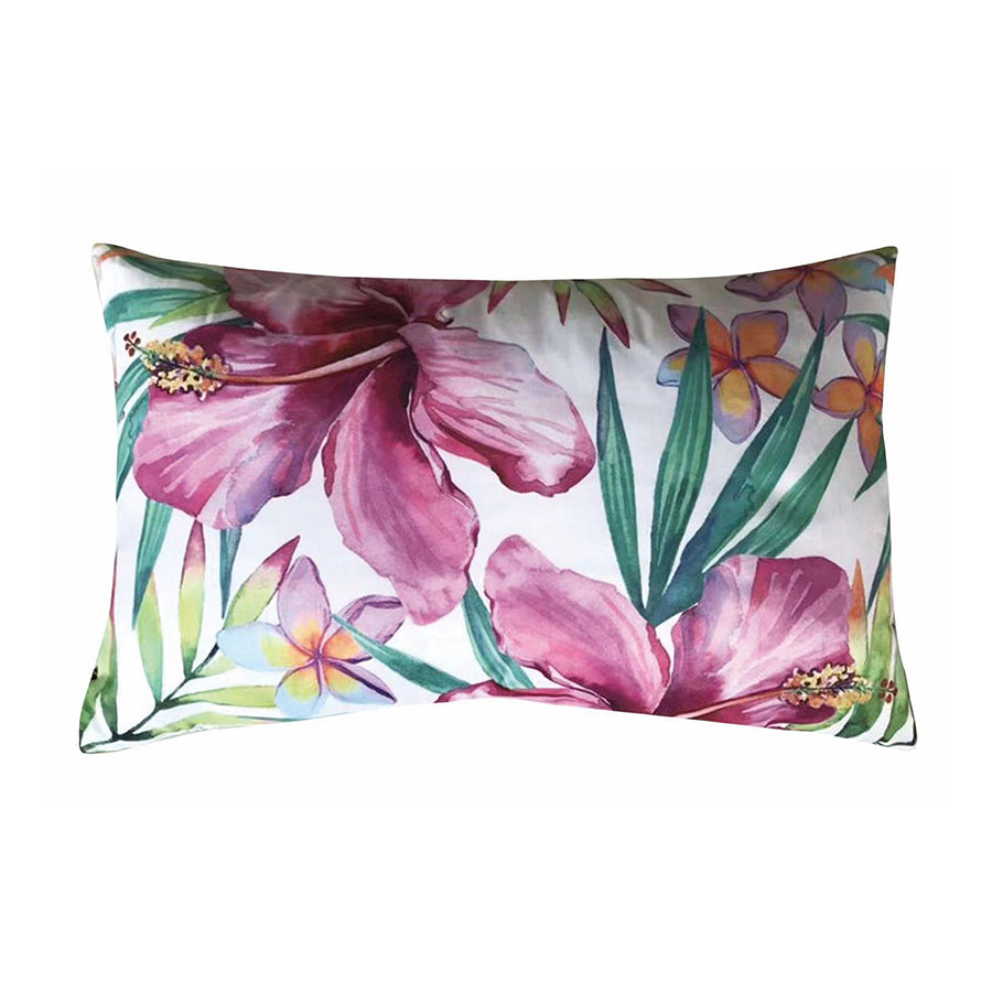 Tropical Print Kidney Pillow