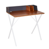 Indra Office Desk - Walnut