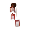 JM883029-3B Wood Group Pendant Lamp