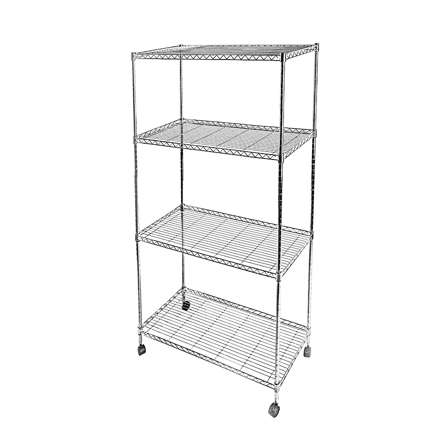 Jack 4 Tier Metal Rack