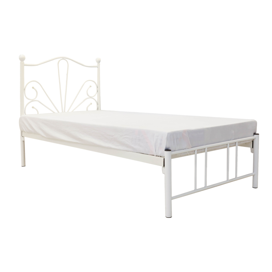 Jade Metal Single Bed 36x75""