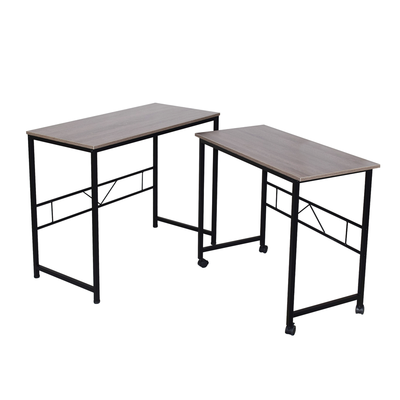 Jai Set Of 2 Office Desk - Black Oak