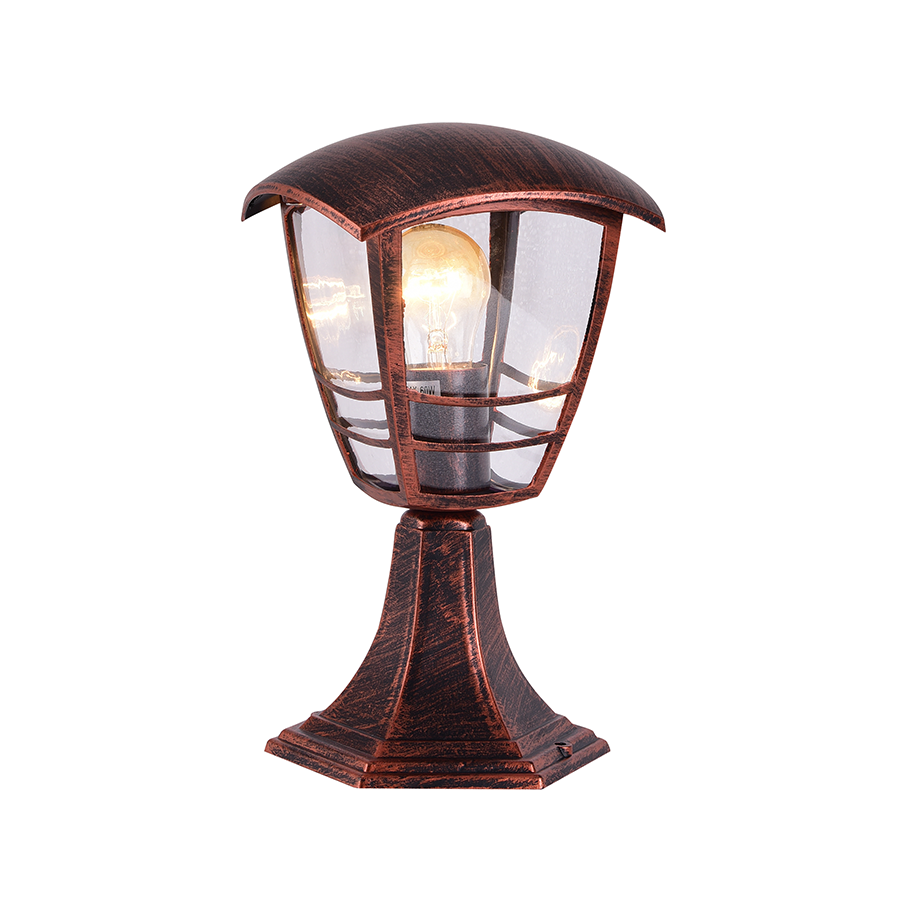 KX-043-3A/S Post Lamp Red Bronze