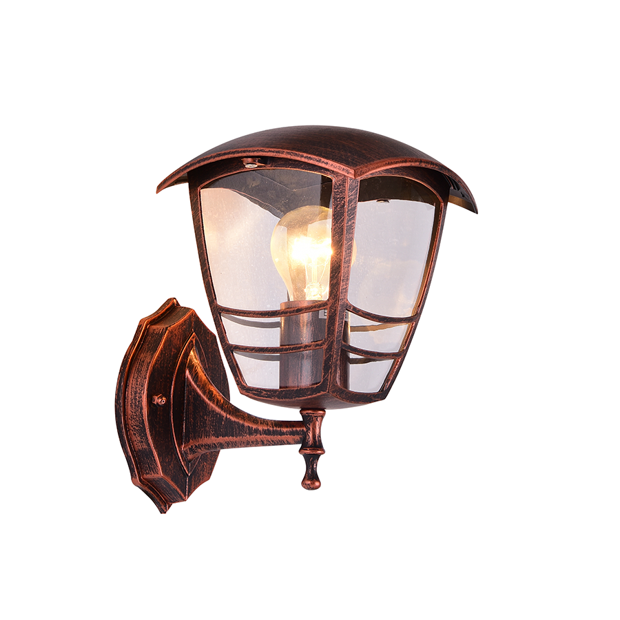 KX-043-3A/W Wall Lamp Red Bronze Color