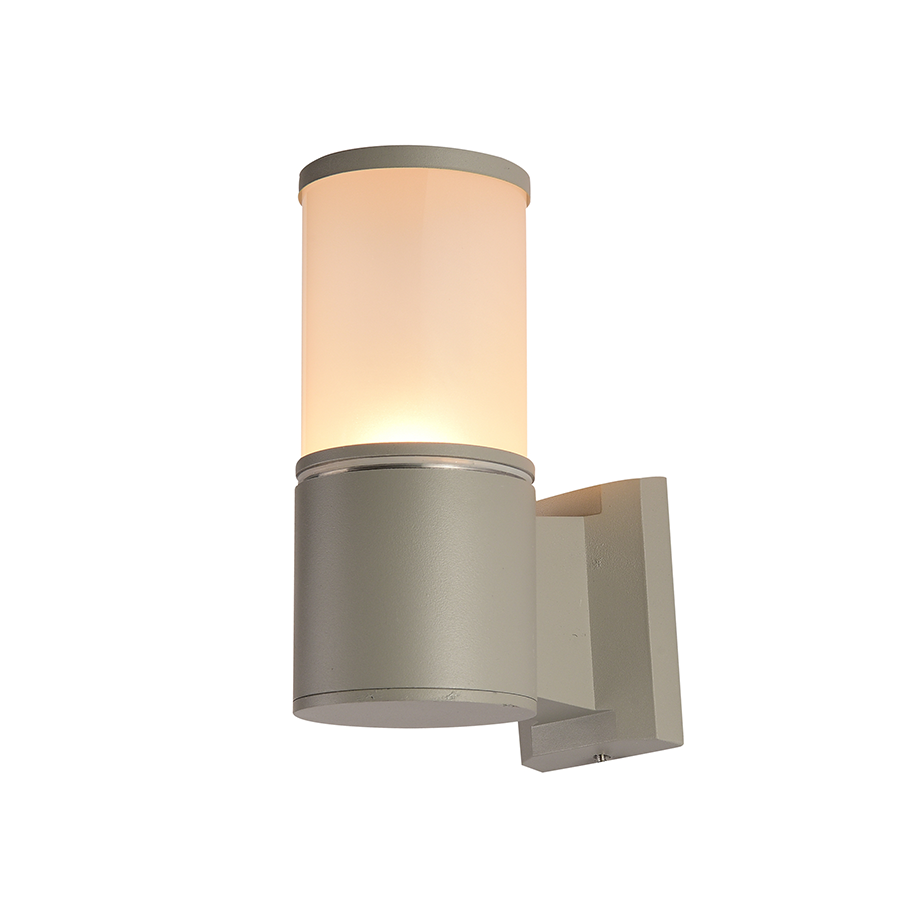 Kx 2801 d9 single light wall lamp gray