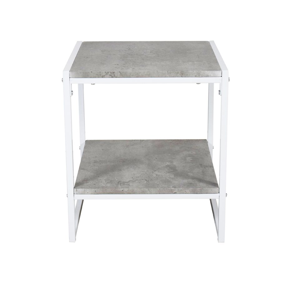 Kabir Side Table - Cement