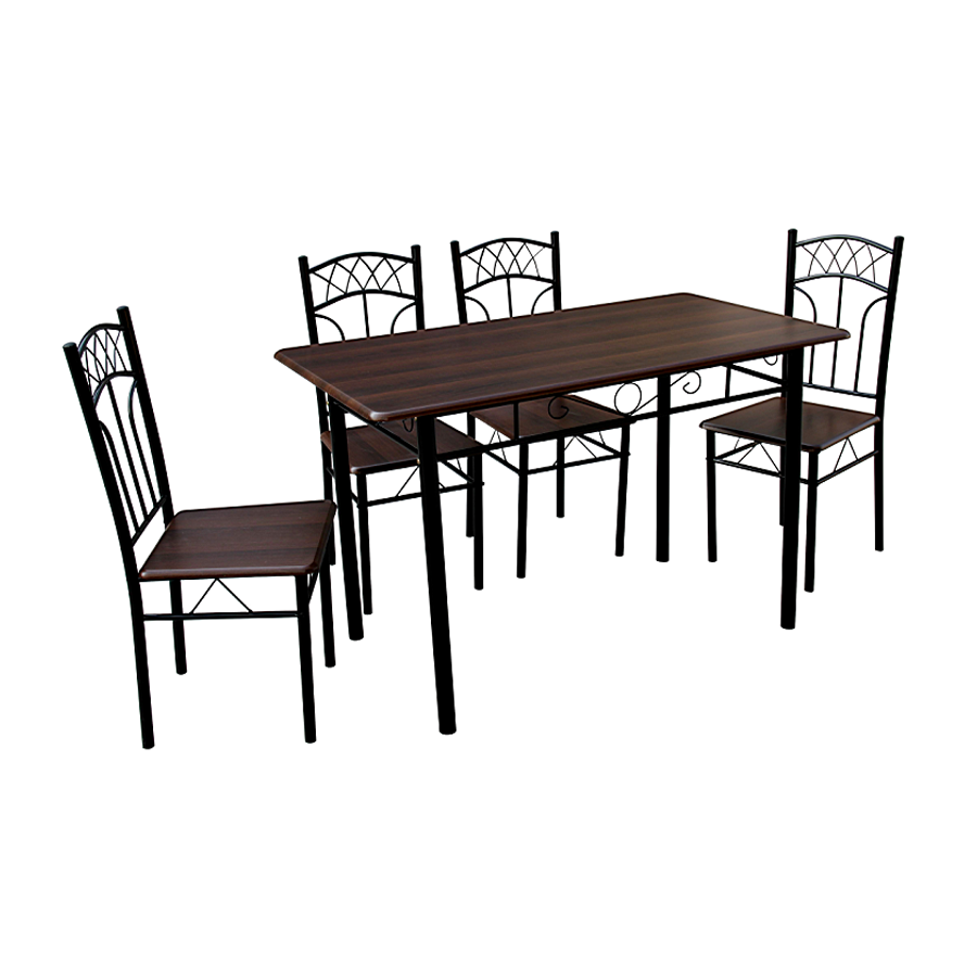 Kaiser 4 Seater Dining Set