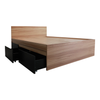 "Kaitlyn Double Bed 54x75"" with 2 Pull Out Drawer"