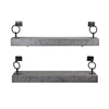 Kenzo Set Of 2 Wall Shelf