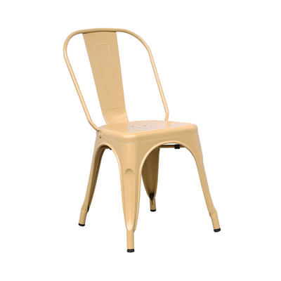 Kirk Metal Chair - Cappuccino