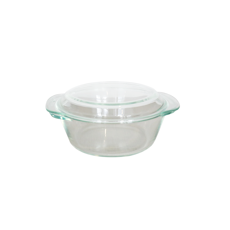 L6834 2000ml Round Casserole with Lid