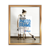 LB1A01 Bronze PVC Photo Frame 8 X 10""