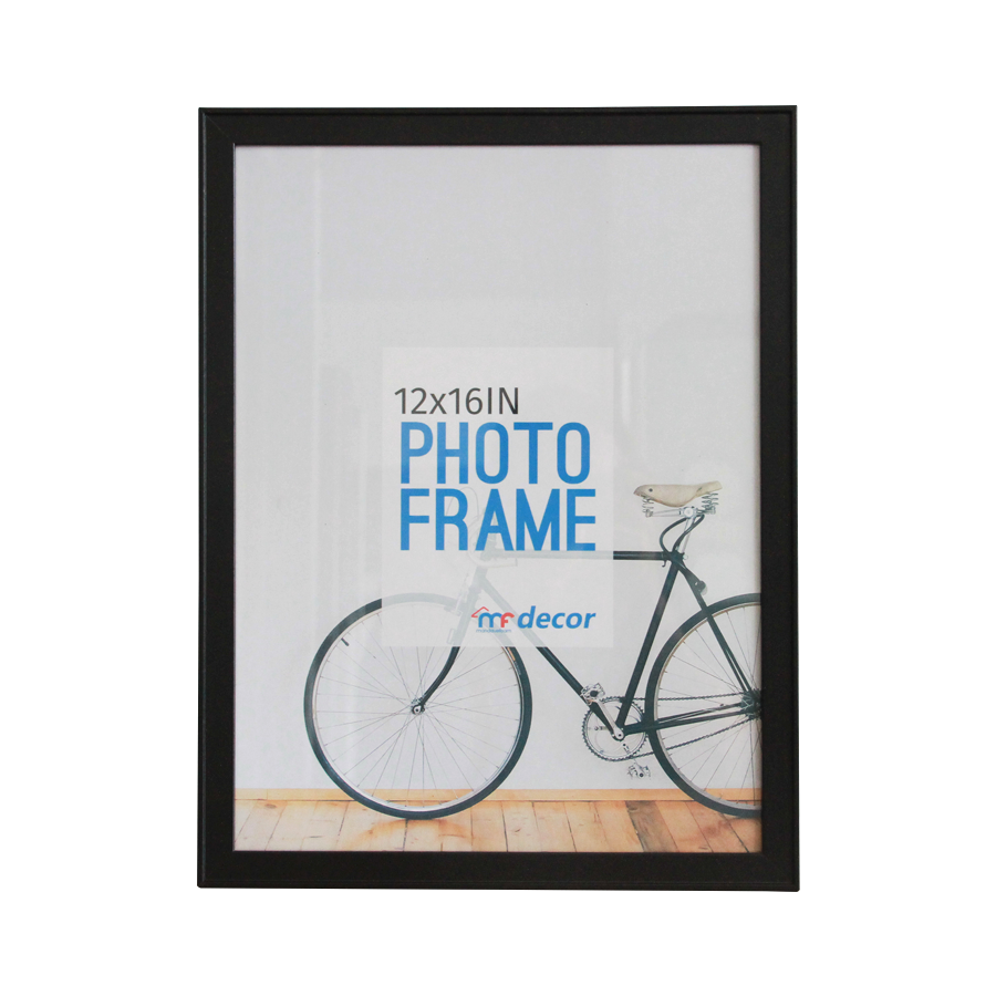 LB1A06 Black MDF Photo Frame 12 x 16""