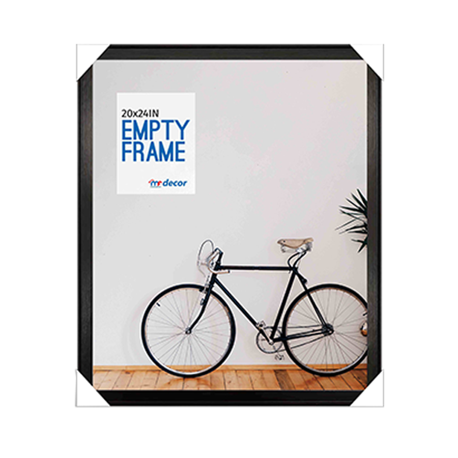 LB1A06 Black MDF Photo Frame 20 X 24""
