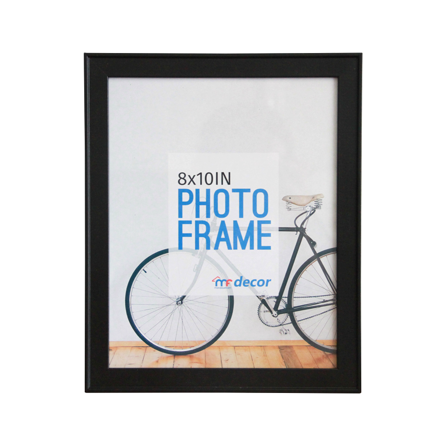 LB1A06 Black MDF Photo Frame 8 x 10""