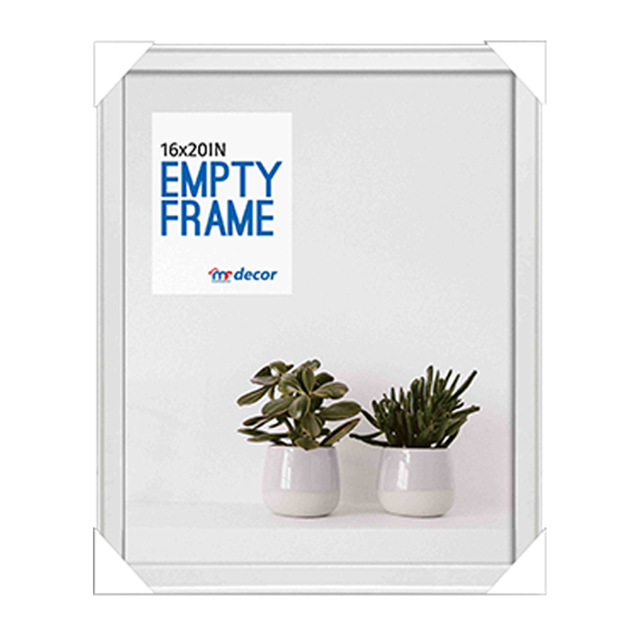 LB1A06 White MDF Photo Frame 16 X 20""