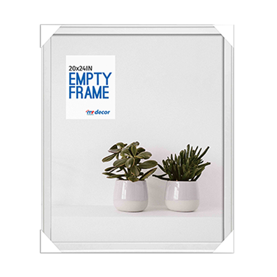 LB1A06 White MDF Photo Frame 20 X 24""