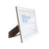 LB1A06 White MDF Photo Frame 8.5 x 11""