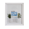 LB1A06 White MDF Photo Frame 8 x 10""