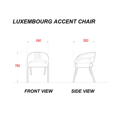 Luxembourg Accent Chair
