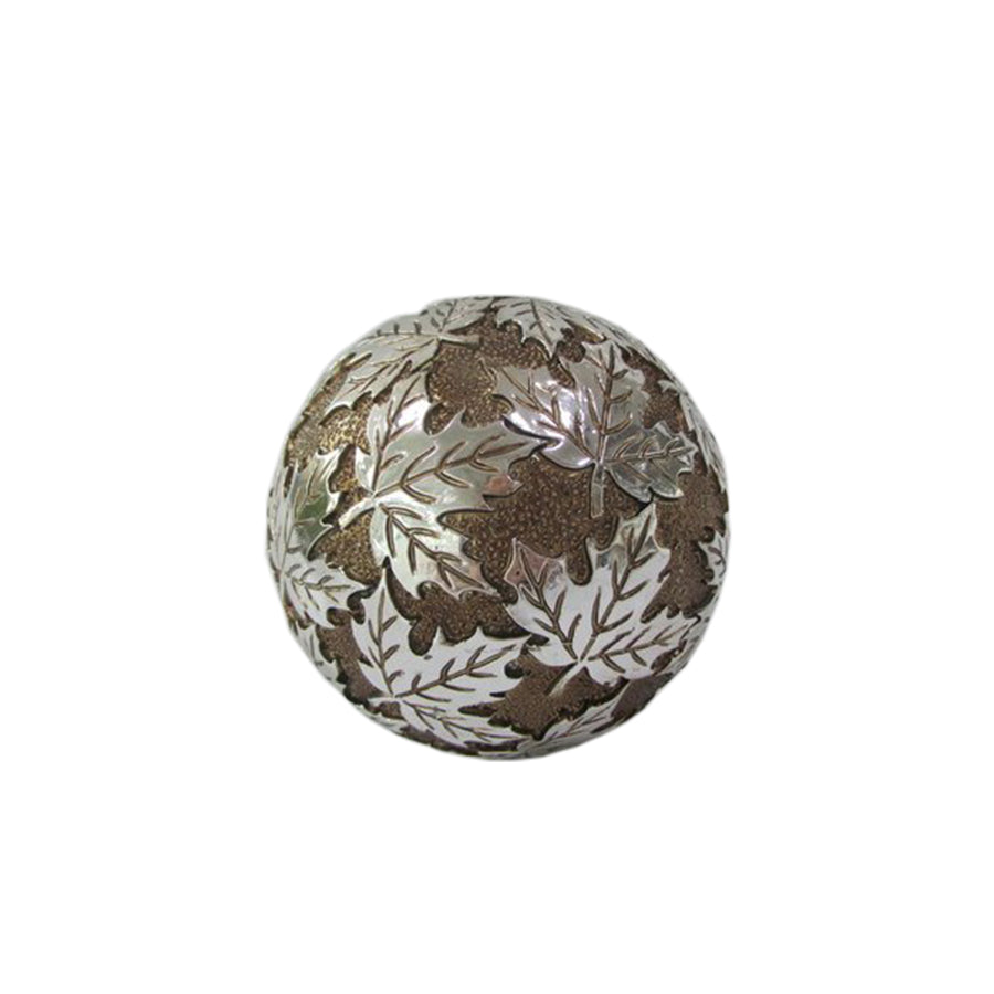 Leaf Decorative Sphere