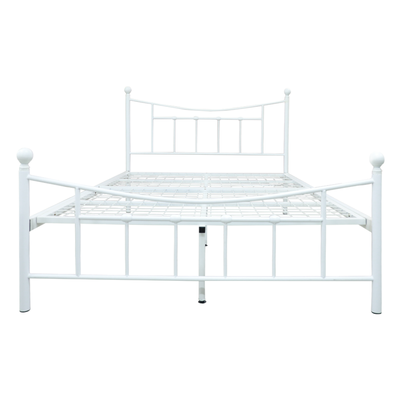 Leila Metal Double Bed 54x75""