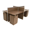 Lexi Partition With 4 Fixed Drawers
