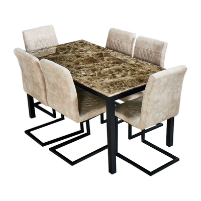 Lionel 6 Seater Dining Set