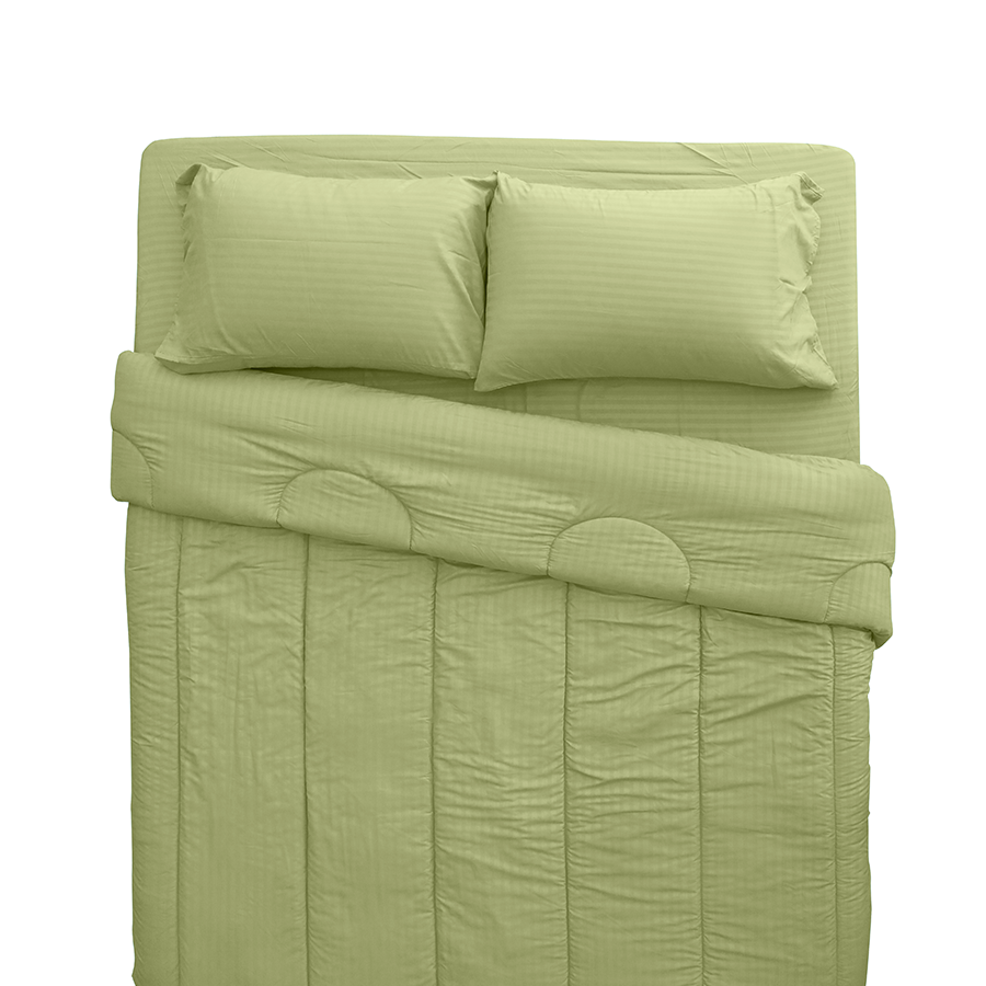 MF Linen M-4 Fern Beddings