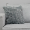 MF-007 Grey Fur with Silver 43x43cm
