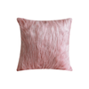 MF-008 Pink Fur with Silver 43x43cm