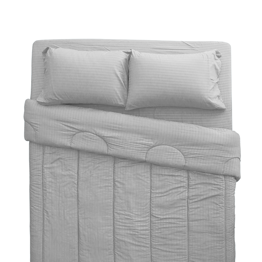 MF Linen M-5 Grey Beddings