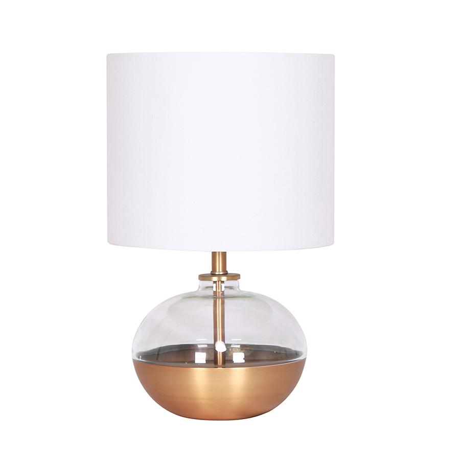 ML185323-GL Glass Table Lamp