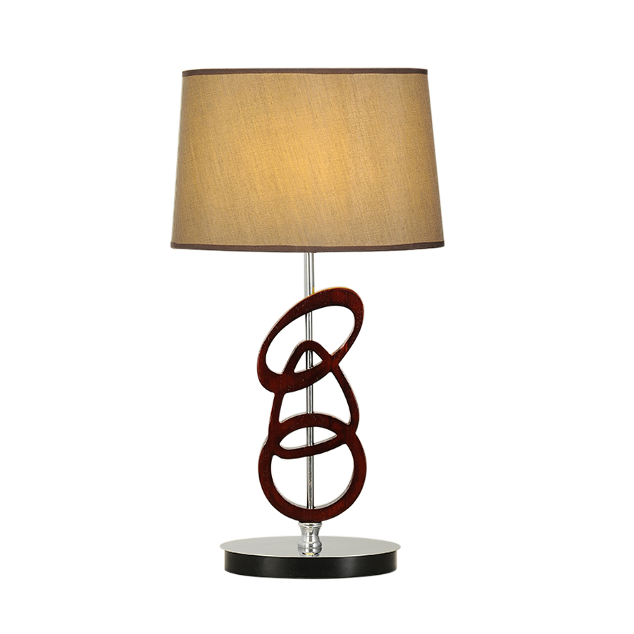 MT2650 Wood Circles Table Lamp
