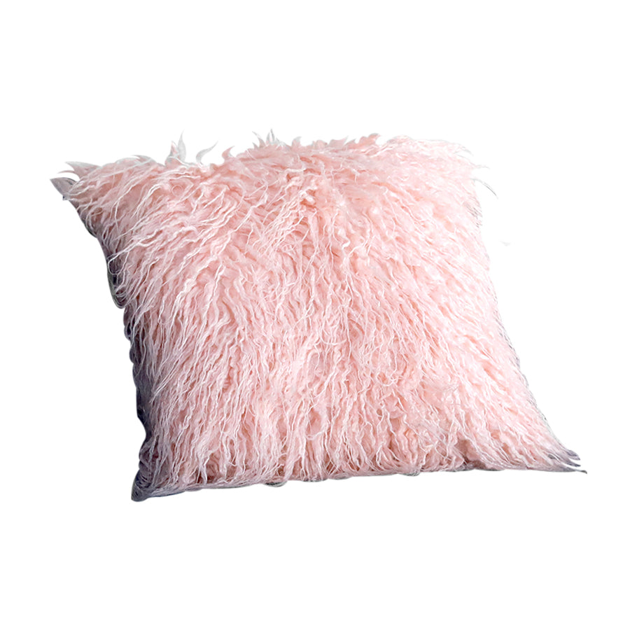 Pink Curly Fur Case
