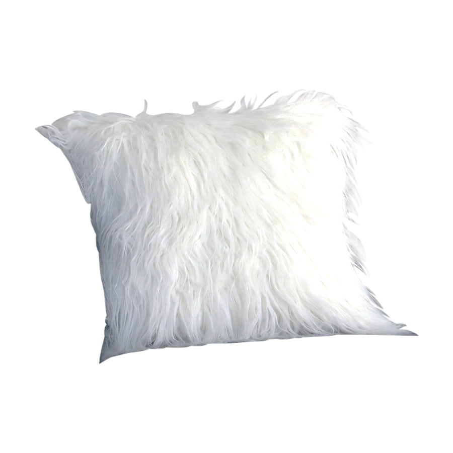 White Mongolian Fur Case