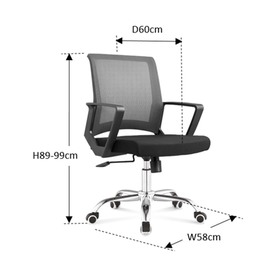 Michel Low Back Office Chair