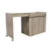 Nimbus Office Desk - Sonoma Brown 3D