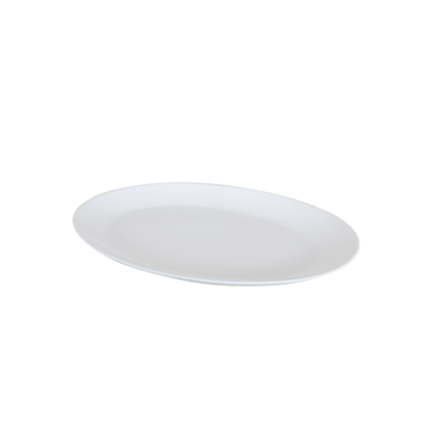 "Nmyp130 13""Opalware Serving Plate-oval"