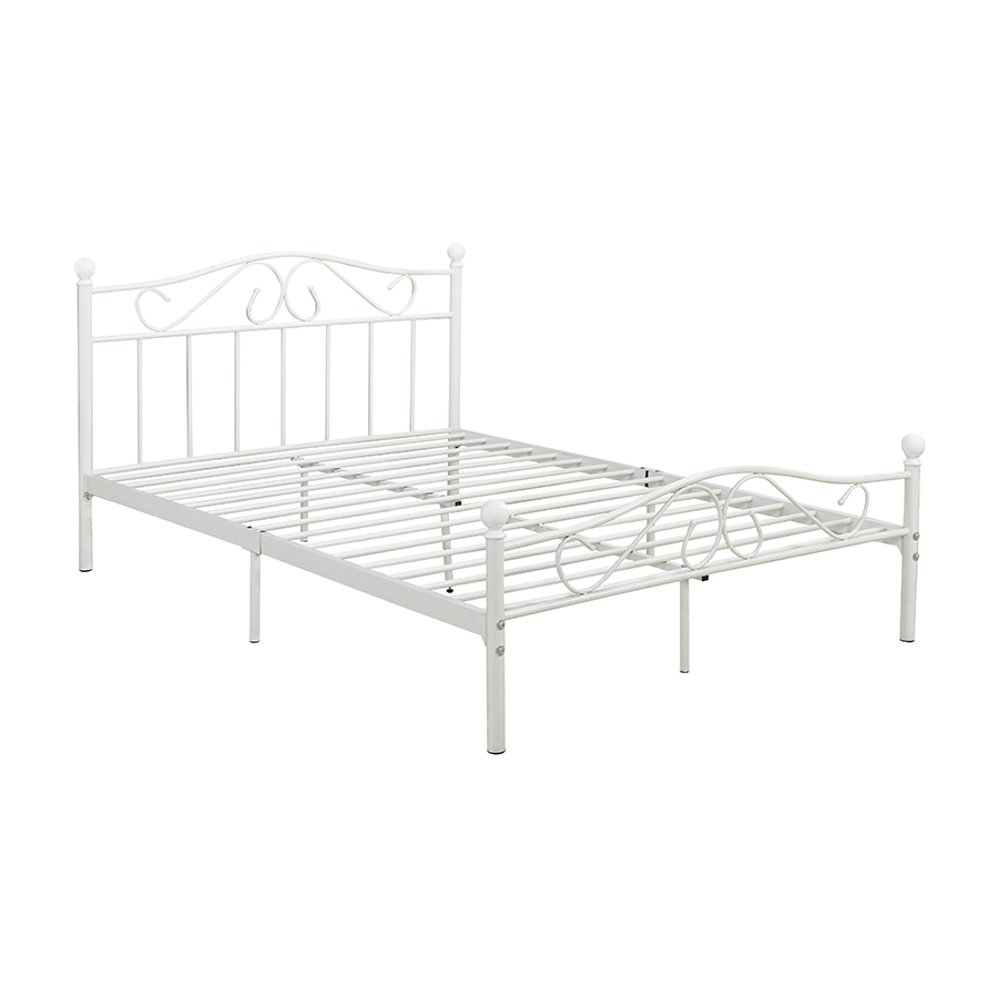 Nola Metal Double Bed 54x75""