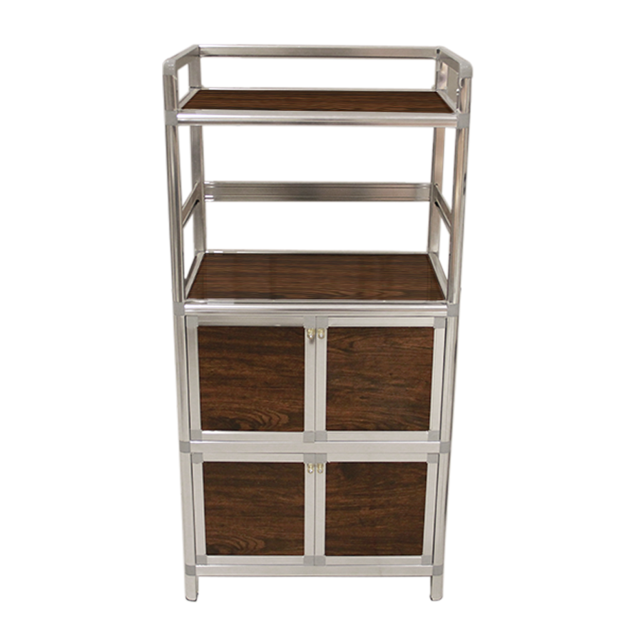 Olly 4 Door Kitchen Cabinet W/ Shelf