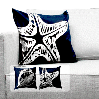 PLP08-102 Blue Metallic Starfish
