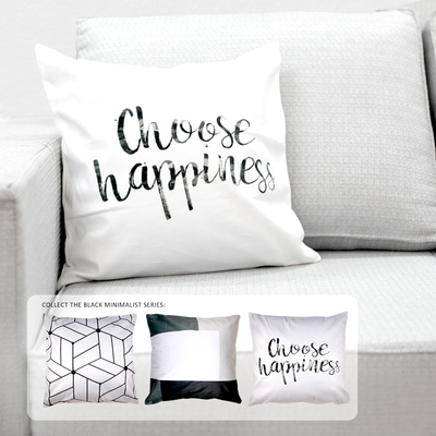 PLP08-124 Choose Happiness Quote