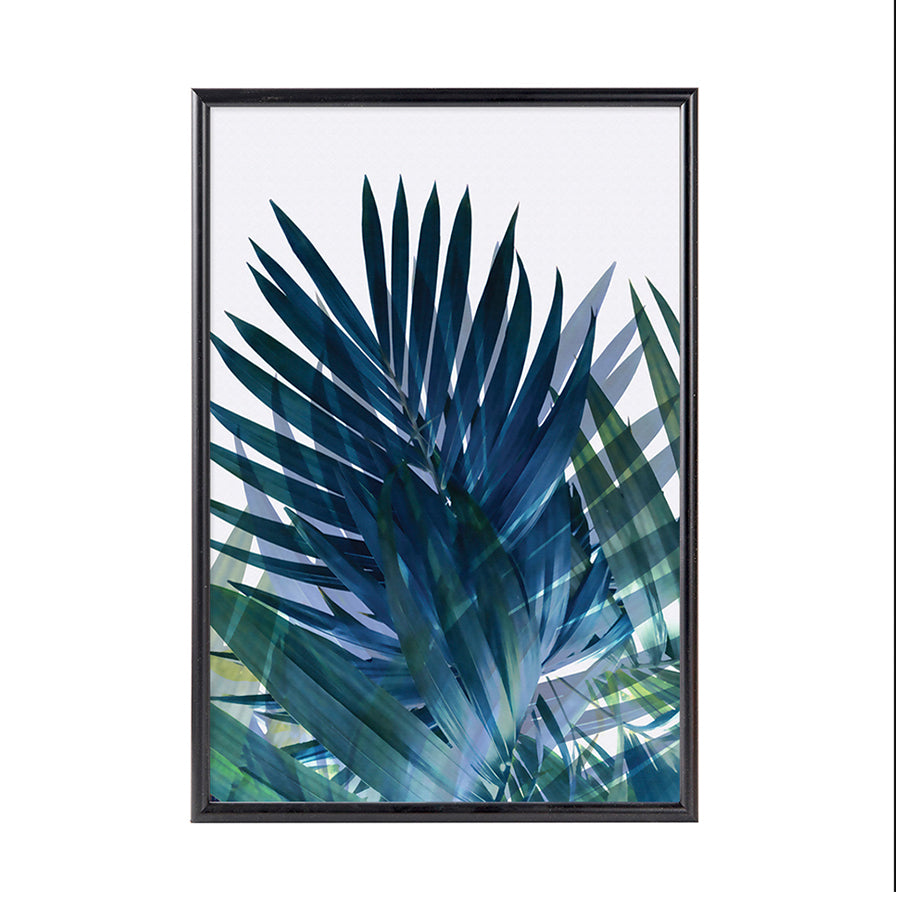 Palm Leaf Framed Art