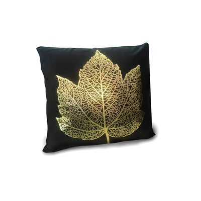 Plp08-101 Black Metallic Leaf