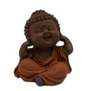 Qmh12926a-42 Laughing Monk Sculpture