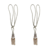 SCSJ Tassel Gold & Beige Mix Colors Pair
