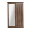 Soojin 2 Door Wardrobe with Mirror