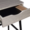 Shylah Office Desk - Gray Oak