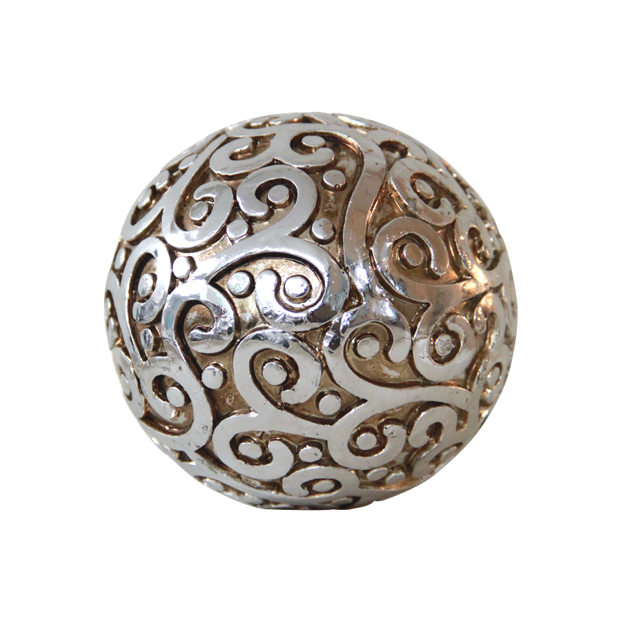 Swirl Decorative Sphere